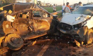 Motorista de aplicativo morre em acidente de trânsito na BR-364 saída para Cuiabá/MT