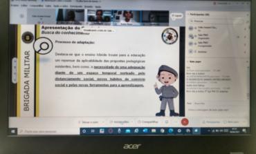 Mais de 20 instrutores de Rondônia recebem capacitação do Proerd em versão híbrida