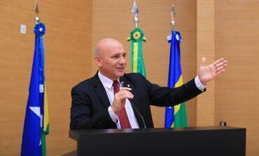 Ezequiel Neiva afirma que o rio Araras está secando em Cerejeiras