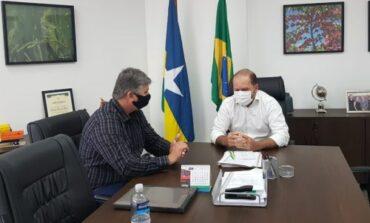 Vereador Gilmar Loose busca apoio do deputado Cirone para atender produtores Rurais