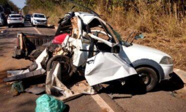 MS: carro com casal rondoniense se envolve em acidente fatal, mulher grávida de 22 anos morreu