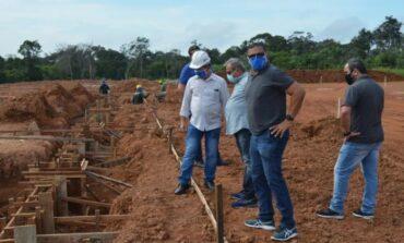 Obra do legado da Copa de 2014 é retomada em Rondônia e está em 30%