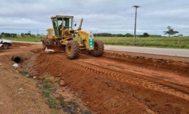 Rolim de Moura: construção da primeira ciclovia em rodovia estadual é iniciada