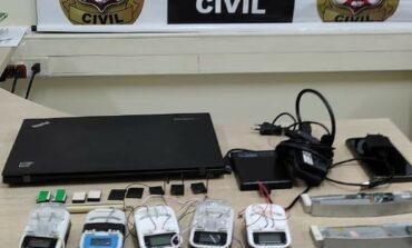 Homem é preso ao chegar em Porto Velho apenas para clonar cartões com 'chupa-cabras'