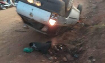 Grave acidente é registrado na área rural de Cerejeiras