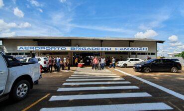 Obras de balizamento, limpeza e construção de cerca proporcionam retorno das atividades do Aeroporto de Vilhena