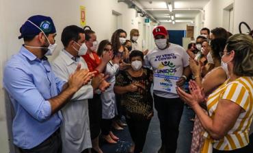 Paciente de Dourados é o segundo a ter alta hospitalar após tratamento contra a covid-19 em Rondônia