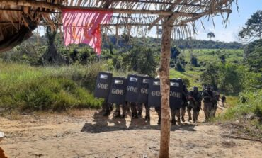 Operação de reintegração de posse é realizada na Zona Rural de Machadinho D'Oeste