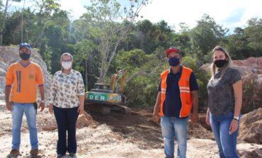 Atendendo solicitação de Rosangela Donadon, DER vai recuperar ponte sobre rio Canário na RO-391, em Chupinguaia