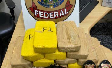 Policia Federal prende homem com 14 kg de cocaína e arma de fogo em Guajará-Mirim