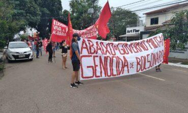 Cidades de Rondônia registram atos contra Bolsonaro e pedidos por mais vacina contra a Covid-19