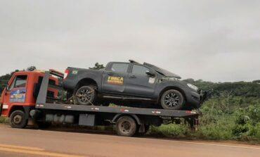 Motorista morre após batida entre viatura da Força Nacional e carro na BR-364, perto da Unir