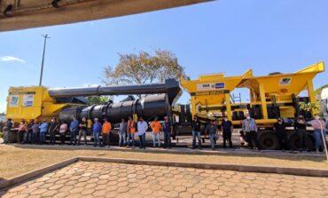 Uma das maiores e mais modernas usinas de asfalto do Governo de Rondônia é entregue em Vilhena