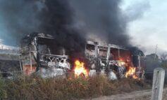 Motorista de caminhão-tanque que colidiu em ônibus diz que passou por buracos na BR-364